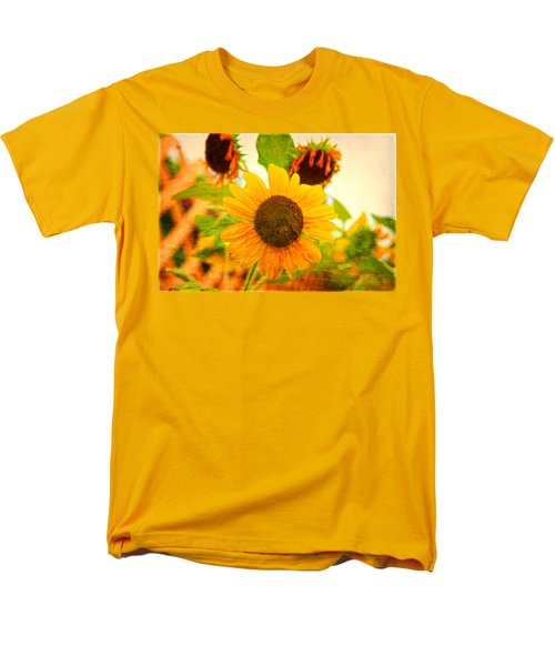 Blossoming Sunflower Beauty Men's T-Shirt  (Regular Fit) by Toni Hopper