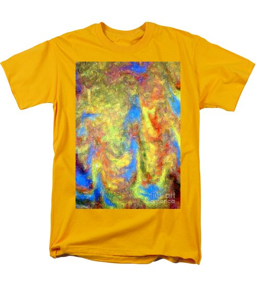 Blue Ascension Men's T-Shirt  (Regular Fit) by Barbie Corbett-Newmin