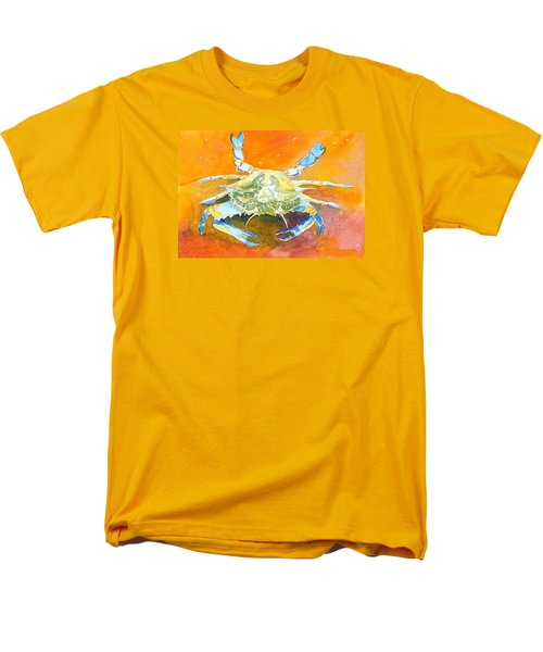 Blue Crab Men's T-Shirt  (Regular Fit) by Anne Marie Brown