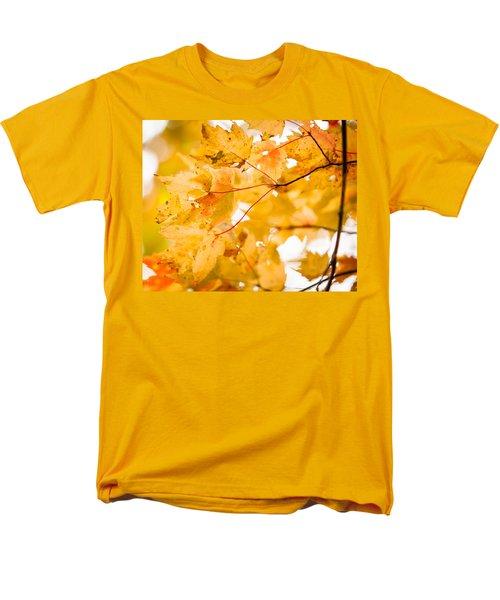 Branching Yellow Men's T-Shirt  (Regular Fit) by Melinda Ledsome