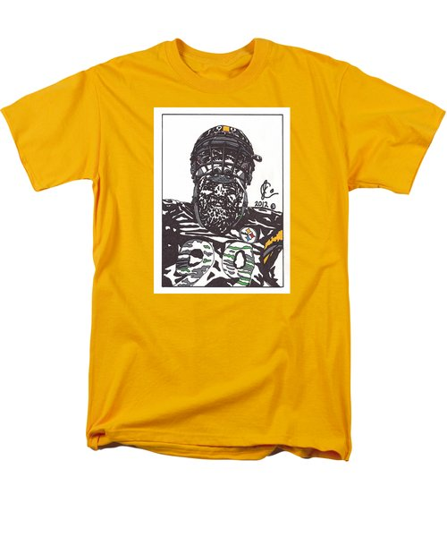 Brett Keisel 2 Men's T-Shirt  (Regular Fit) by Jeremiah Colley