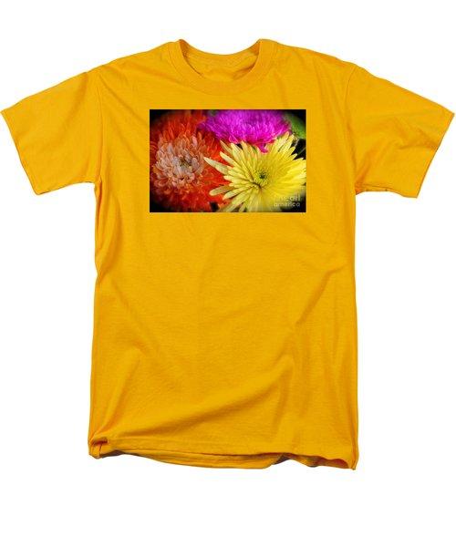 Bright Chrysanthemums Men's T-Shirt  (Regular Fit)