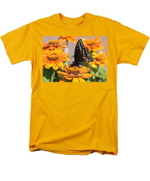 Butterfly In Living Color Men's T-Shirt  (Regular Fit) by Greg Graham