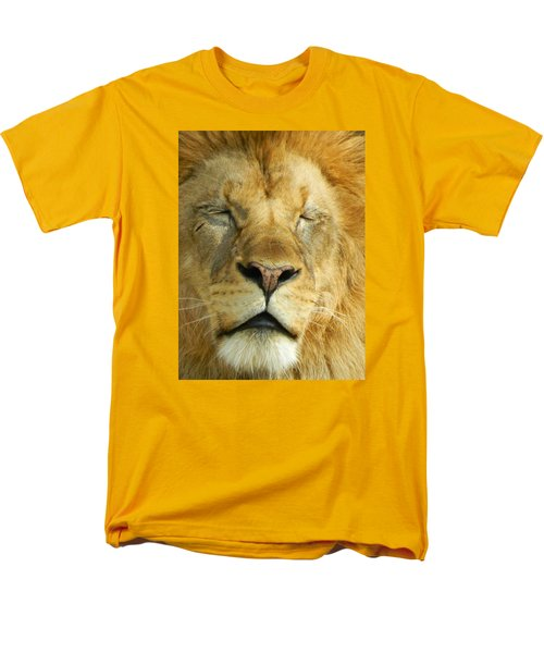 Cat Nap Men's T-Shirt  (Regular Fit) by Emmy Marie Vickers