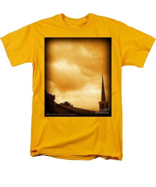 Church Steeple Men's T-Shirt  (Regular Fit) by Bobbee Rickard