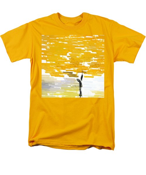 Classy Yellow Tree Men's T-Shirt  (Regular Fit) by Lourry Legarde