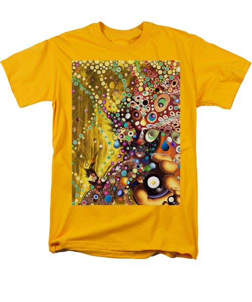 Men's T-Shirt  (Regular Fit) featuring the mixed media Color Intoxication Remix by Douglas Fromm