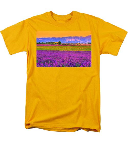 Colors Of Provence Men's T-Shirt  (Regular Fit) by Midori Chan