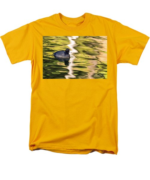 Coot Reflected Men's T-Shirt  (Regular Fit) by Kate Brown