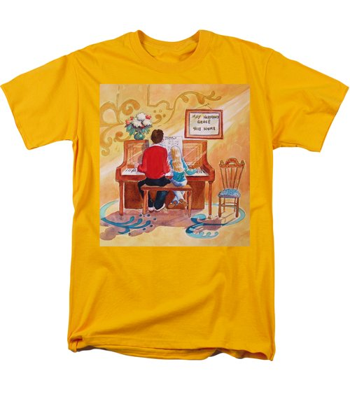 Daddy's Little Girl Men's T-Shirt  (Regular Fit) by Marilyn Jacobson
