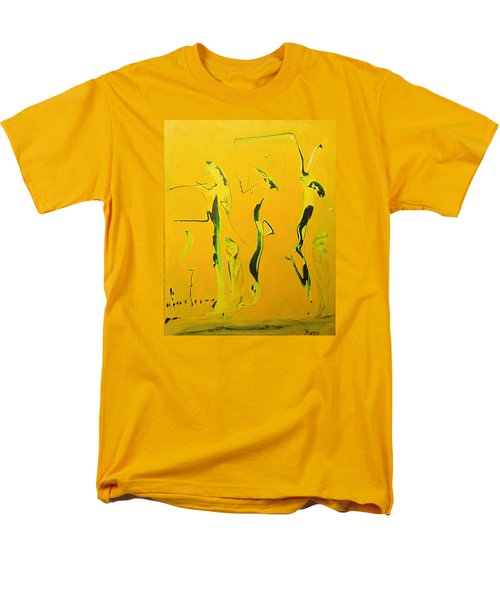 Men's T-Shirt  (Regular Fit) featuring the painting Dames Du Salon Francais by Kicking Bear  Productions