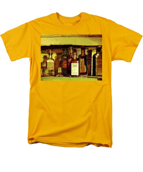 Men's T-Shirt  (Regular Fit) featuring the photograph Doctor - Syrup Of Ipecac by Susan Savad