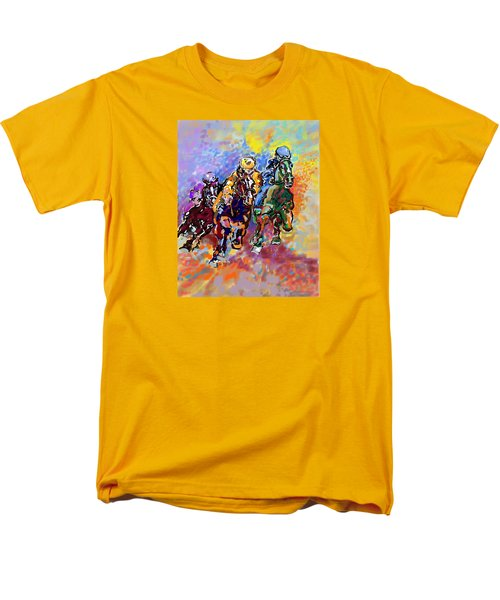 Dynamic Winner Men's T-Shirt  (Regular Fit) by Mary Armstrong