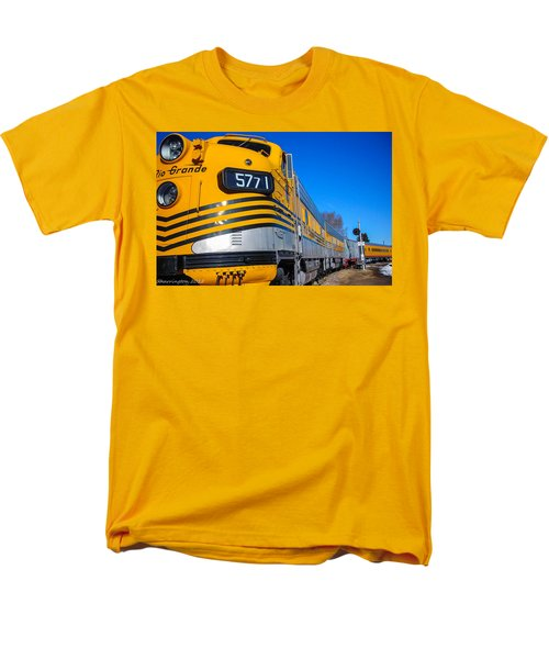 Men's T-Shirt  (Regular Fit) featuring the photograph Engine 5771 by Shannon Harrington