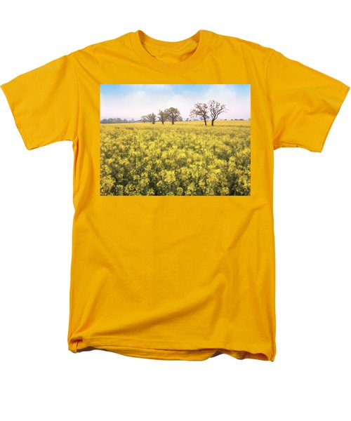 Fields Of Yellow Men's T-Shirt  (Regular Fit) by Ron Harpham
