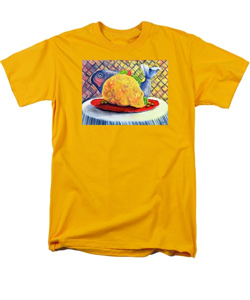 Fish Taco Men's T-Shirt  (Regular Fit) by Randy Burns