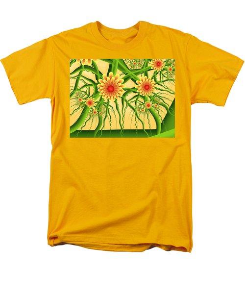 Fractal Summer Pleasures Men's T-Shirt  (Regular Fit) by Gabiw Art