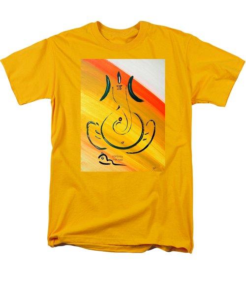 8 Ganesh Ekdhantaya Men's T-Shirt  (Regular Fit) by Kruti Shah