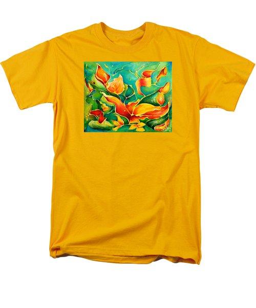 Garden Series No.3 Men's T-Shirt  (Regular Fit) by Teresa Wegrzyn