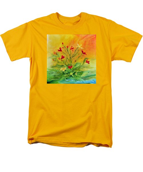 Gentle Men's T-Shirt  (Regular Fit) by Teresa Wegrzyn