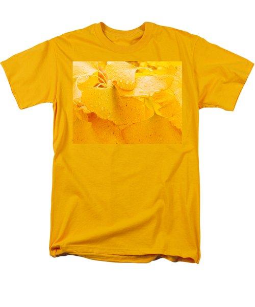 Men's T-Shirt  (Regular Fit) featuring the photograph Ginkgo Biloba Leaves by Vizual Studio