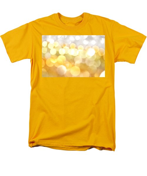 Gold On The Ceiling Men's T-Shirt  (Regular Fit) by Dazzle Zazz