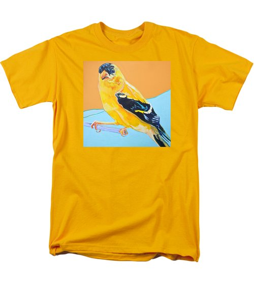 Goldfinch Men's T-Shirt  (Regular Fit) by Jamie Downs