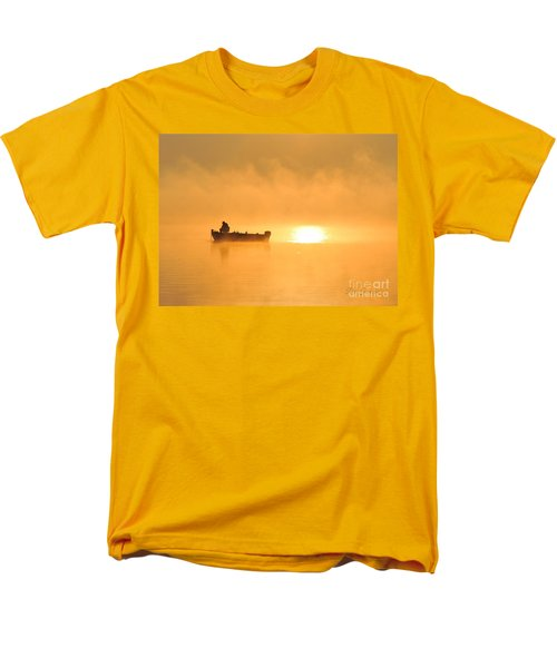 Men's T-Shirt  (Regular Fit) featuring the photograph Gone Fishing by Terri Gostola