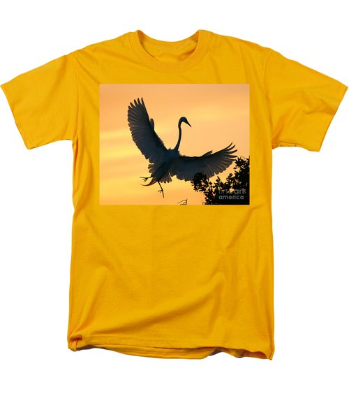 Men's T-Shirt  (Regular Fit) featuring the photograph  Sunset Ballet by John F Tsumas