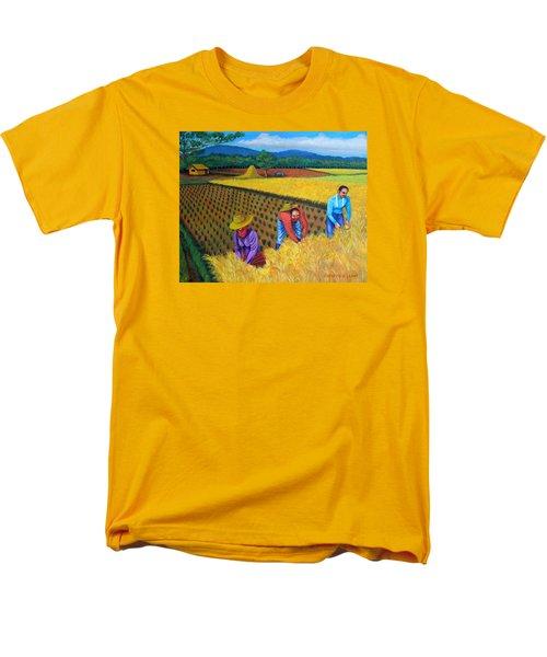Harvest Season Men's T-Shirt  (Regular Fit) by Lorna Maza