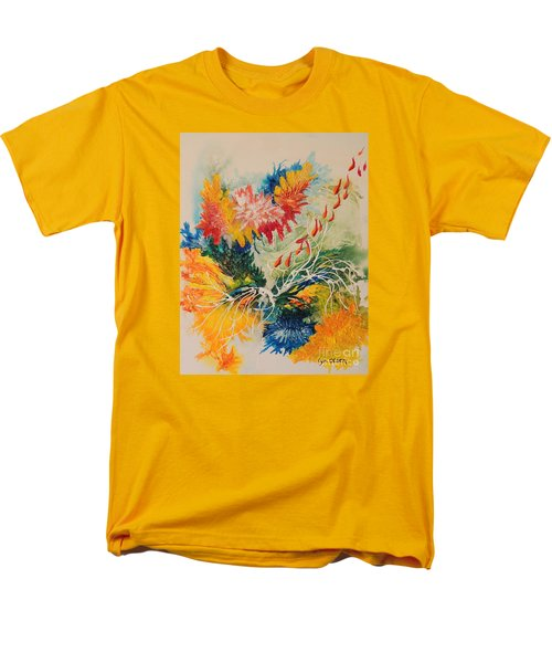 Men's T-Shirt  (Regular Fit) featuring the painting Heading Down #1 by Lyn Olsen
