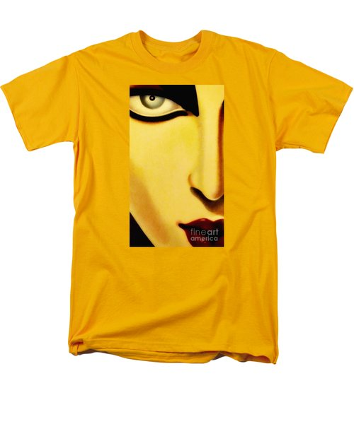 Men's T-Shirt  (Regular Fit) featuring the photograph Her Face by Newel Hunter