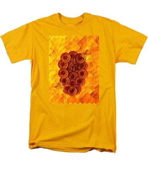 Men's T-Shirt  (Regular Fit) featuring the digital art Honeybee 2 by Lorna Maza