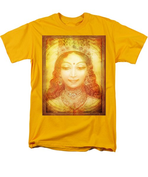 Men's T-Shirt  (Regular Fit) featuring the mixed media I Am That by Ananda Vdovic