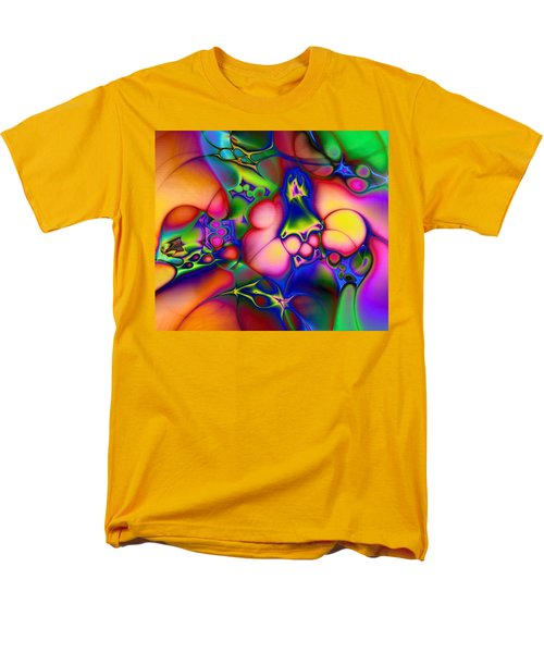 Men's T-Shirt  (Regular Fit) featuring the digital art I Don't Think We're In Kansas Anymore by Casey Kotas