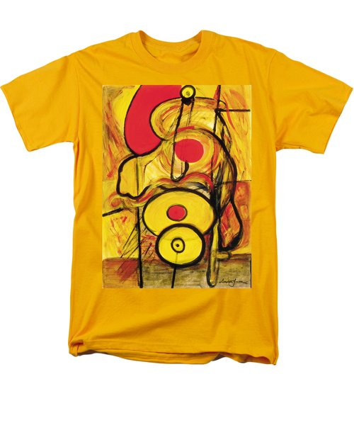 Men's T-Shirt  (Regular Fit) featuring the painting It's All Relative by Stephen Lucas