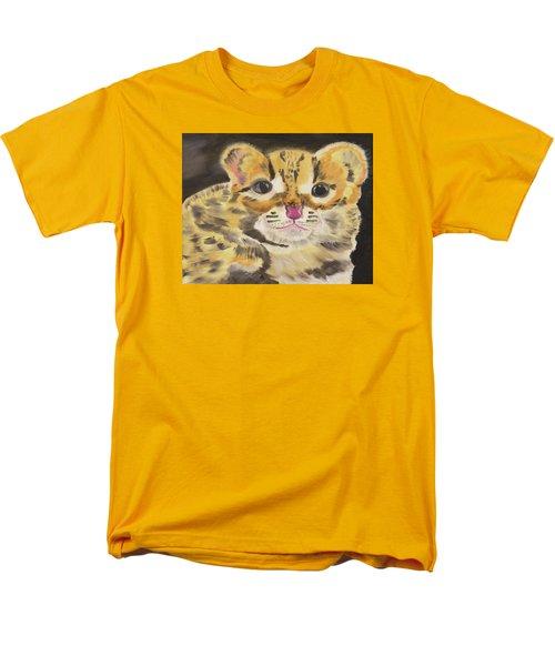 Peek A Boo Kitty Men's T-Shirt  (Regular Fit) by Meryl Goudey