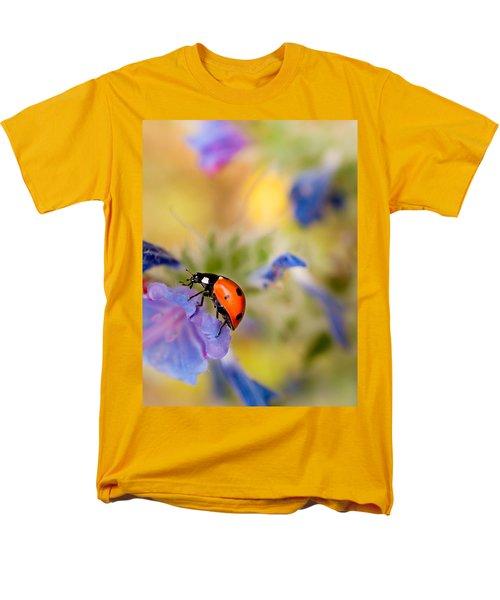 Ladybird Men's T-Shirt  (Regular Fit) by Meir Ezrachi