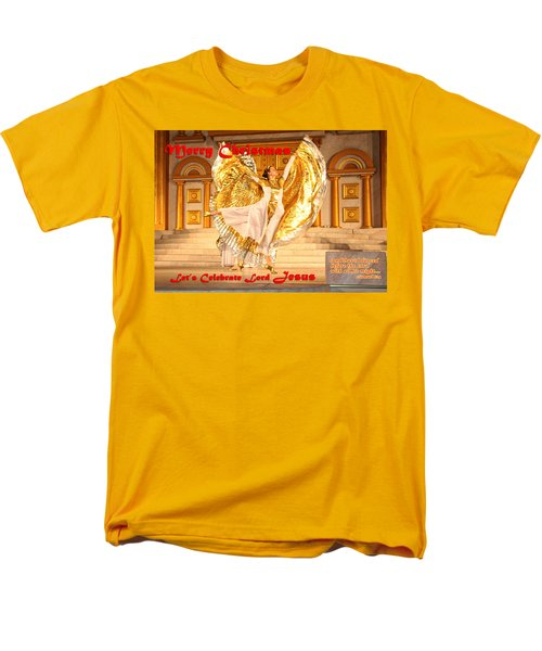 Let's Celebrate Lord Jesus And Dance Men's T-Shirt  (Regular Fit) by Terry Wallace
