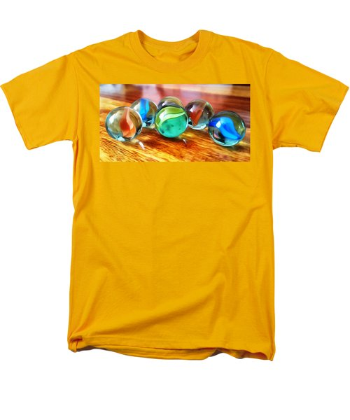 Marble Ducks Men's T-Shirt  (Regular Fit) by Isabella F Abbie Shores FRSA