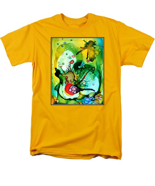 Marine Habitats Men's T-Shirt  (Regular Fit) by Jolanta Anna Karolska