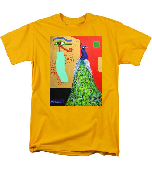 Men's T-Shirt  (Regular Fit) featuring the painting Messages by Ana Maria Edulescu