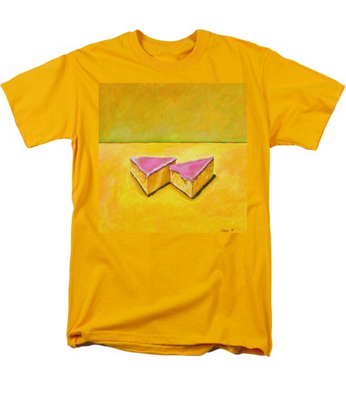 Mexican Pink Cake Men's T-Shirt  (Regular Fit) by Manny Chapa