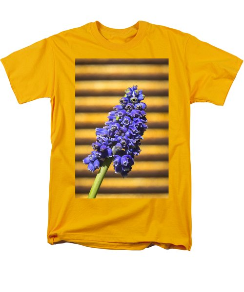 Muscari And Rust Men's T-Shirt  (Regular Fit) by Caitlyn  Grasso