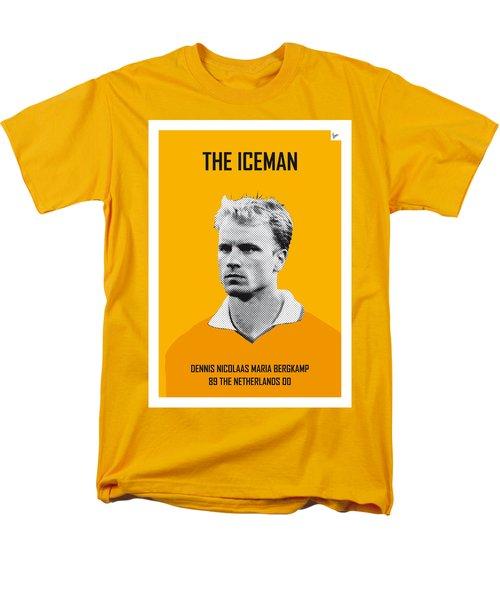 My Bergkamp Soccer Legend Poster Men's T-Shirt  (Regular Fit) by Chungkong Art
