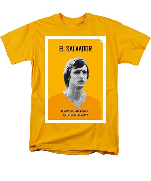 My Cruijff Soccer Legend Poster Men's T-Shirt  (Regular Fit) by Chungkong Art