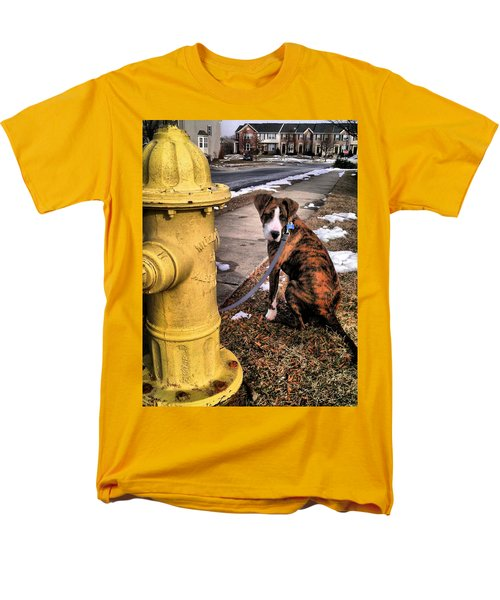 Men's T-Shirt  (Regular Fit) featuring the photograph My Friend Plug by Robert McCubbin