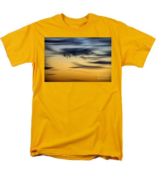 Natural Abstract Art Men's T-Shirt  (Regular Fit) by Peggy Hughes