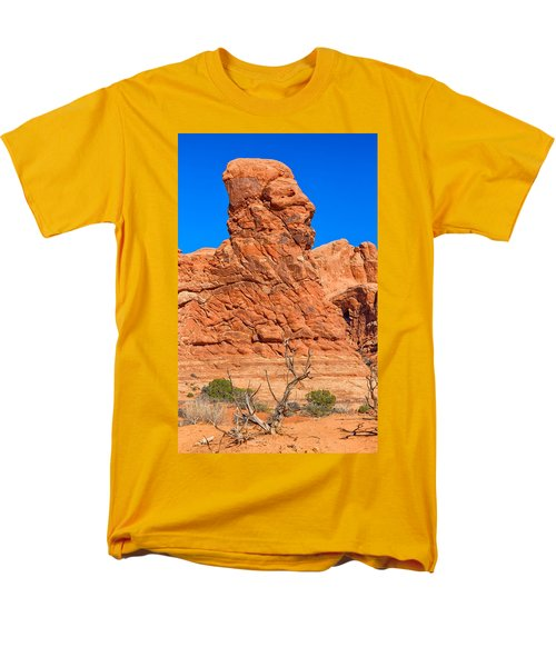 Men's T-Shirt  (Regular Fit) featuring the photograph Natural Sculpture by John M Bailey