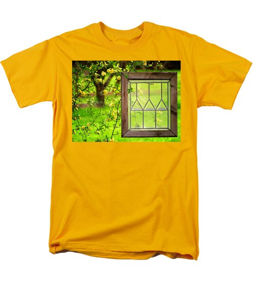 Men's T-Shirt  (Regular Fit) featuring the photograph Nature's Window by Greg Simmons